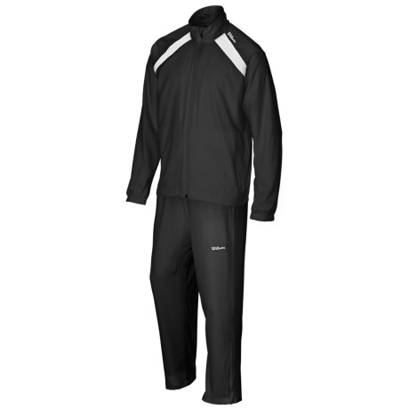 Wilson Woven Warm-Ups - UPF 30+, Two-Piece Set (For Men)
