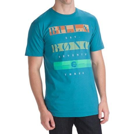 Billabong Strike Through T-Shirt - Organic Cotton, Short Sleeve (For Men)