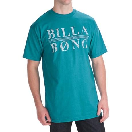 Billabong Long Hand T-Shirt - Organic Cotton, Short Sleeve (For Men)