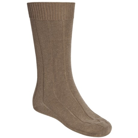 Pantherella Ribbed Cotton Socks - Mid-Calf, 2-Pack (For Men)