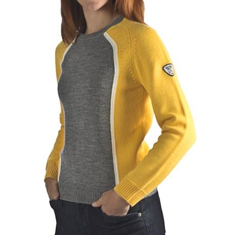 Rossignol Heritage Sweater - Merino Wool (For Women)