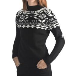 Rossignol Jacquard Pullover Sweater - Merino Wool (For Women)