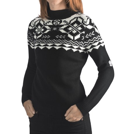 Rossignol Jacquard Pullover Sweater - Merino Wool (For Women)