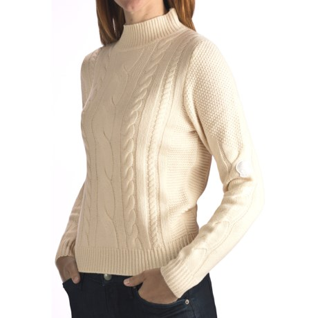 Rossignol Elegant Pullover Sweater - Wool-Cashmere (For Women)