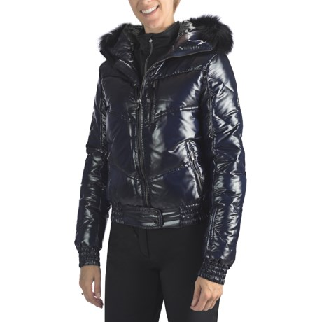 Rossignol Liz Down Moire Jacket - 550 Fill Power (For Women)