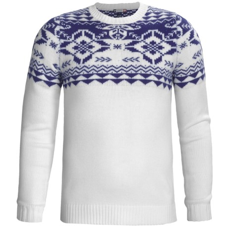 Rossignol Aree Sweater - Merino Wool, Round Neck (For Men)