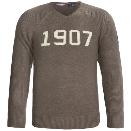 Rossignol Team V-Neck Sweater - Merino Wool (For Men)