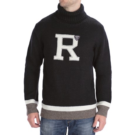 Rossignol Legendary Sweater - Merino Wool-Alpaca, Roll Neck (For Men)