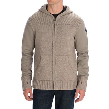 Rossignol Alpine Sweater - Lambswool, Full Zip (For Men)