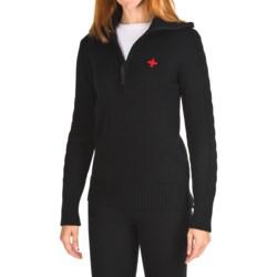 Rossignol Jessie Sweater - Merino Wool, Zip Neck (For Women)