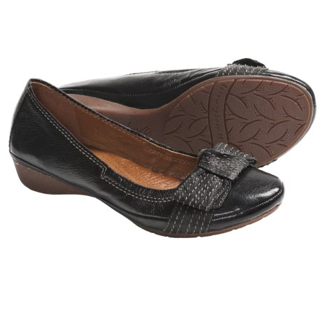 Naya Rapsody Slip-On Shoes - Leather (For Women)