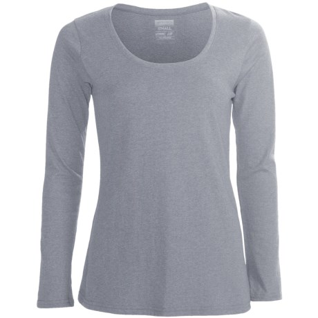 New Balance Heathered T-Shirt - Long Sleeve (For Women)