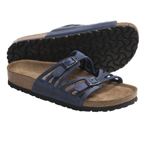 Birkenstock Granada Sandals - Leather (For Women)