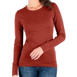 Lilla P Crew Neck Sweater - Cotton-Cashmere (For Women)