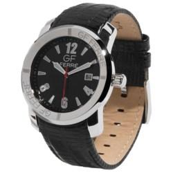GF Ferre Watch - Stainless Steel Case, Date Window