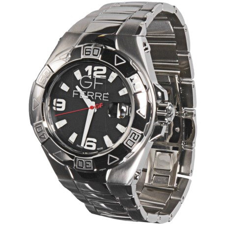 GF Ferre Watch - Stainless Steel Bracelet