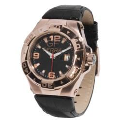 GF Ferre Watch - Three o'Clock Date Window