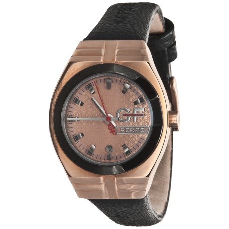 GF Ferre Rose Goldtone Watch (For Women)