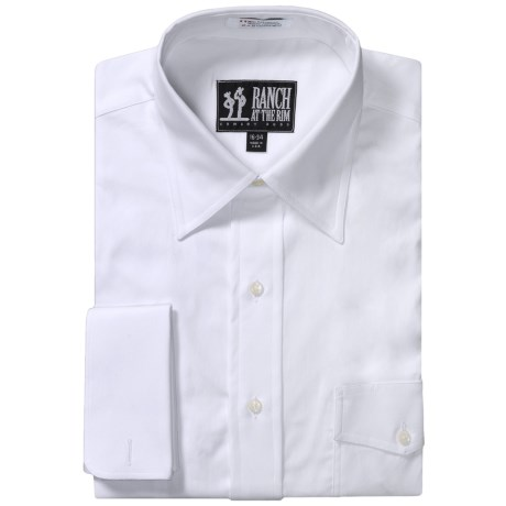 French Cuff Dress Shirt - Long Sleeve (For Men)
