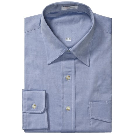 Specially made Western Dress Shirt - Pinpoint Oxford, Long Sleeve (For Men)