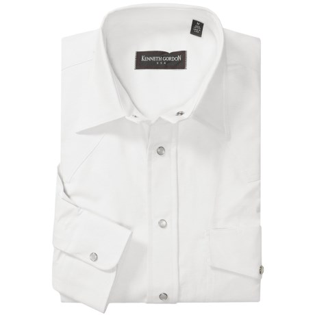 Kenneth Gordon Western Oxford Sport Shirt - Snap Front, Long Sleeve (For Men)