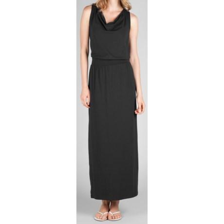 Lilla P Draped Maxi Tank Dress - Stretch Pima Cotton-Modal (For Women)