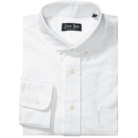 Gitman Brothers Tailored Fit Oxford Dress Shirt - Button-Down, Long Sleeve (For Men)