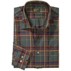 Gitman Brothers Cotton Sport Shirt - Spread Collar, Long Sleeve (For Men)