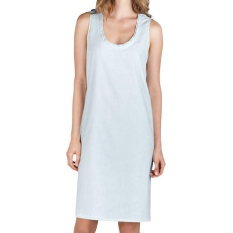 Lilla P Woven Pinstripe Easy Tank Dress (For Women)