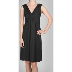 Lilla P Ruched Strap Dress - Stretch Jersey, Sleeveless (For Women)
