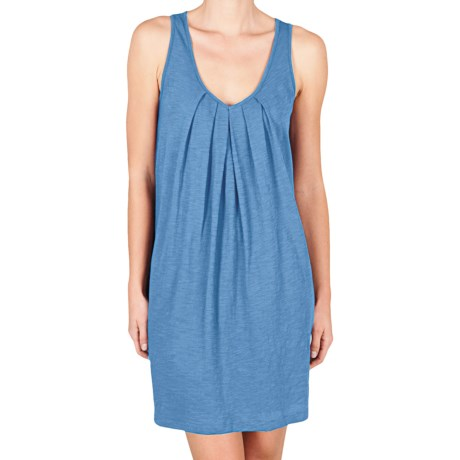 Lilla P Flame Tank Dress - Pima Cotton Slub, Racerback (For Women)