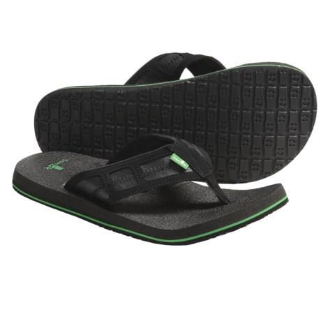 Sanuk Happy Hour Sandals - Flip-Flops (For Men)