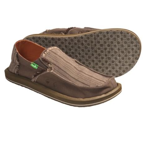 Sanuk Grifter Canvas Shoes - Slip-Ons (For Men)