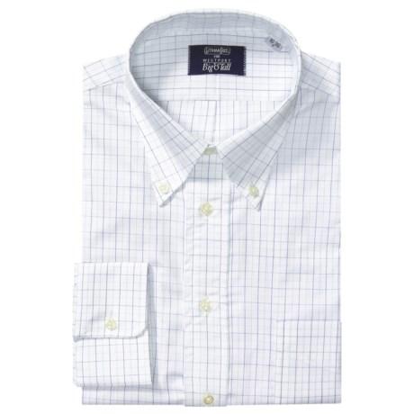 Gitman Brothers Westport Check Dress Shirt - Button-Down, Long Sleeve (For Big & Tall Men)