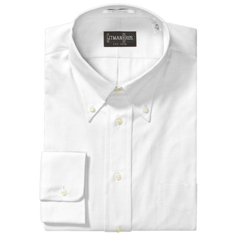 Westport Dress Shirt - Button Down, Long Sleeve (For Big and Tall Men)