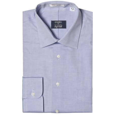 Gitman Brothers Westport Solid Dress Shirt - Spread Collar, Long Sleeve (For Big and Tall Men)