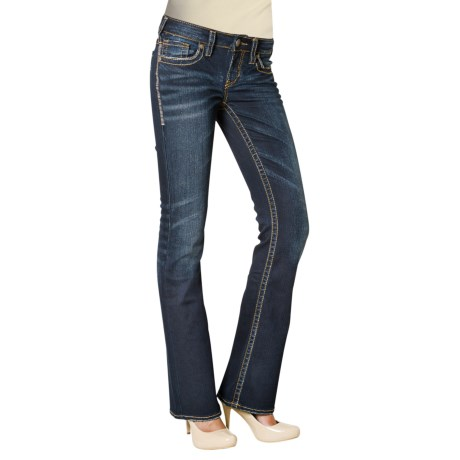 Silver Jeans Aiko Bootcut Jeans - Mid Rise (For Women)