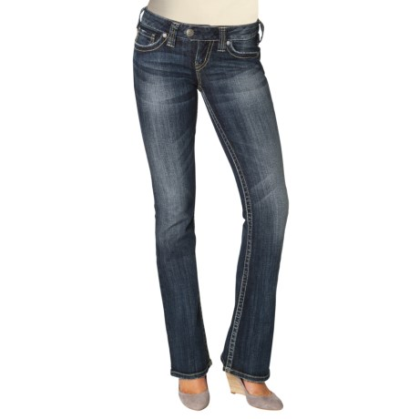 Silver Jeans Tuesday Jeans - Low Rise, Bootcut (For Women)