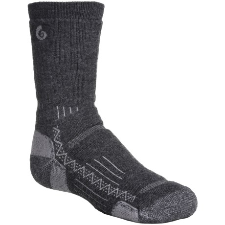 Point6 Hike Tech Socks - Merino Wool Blend, Midweight, Crew (For Little and Big Kids)