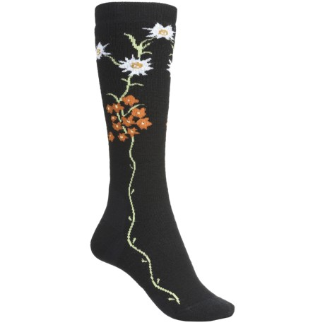 Point6 Edelweiss Socks - Merino Wool Blend, Midweight, Over-the-Calf (For Women)