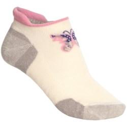 Point6 Butterfly Socks - Merino Wool Blend, Below the Ankle (For Women)