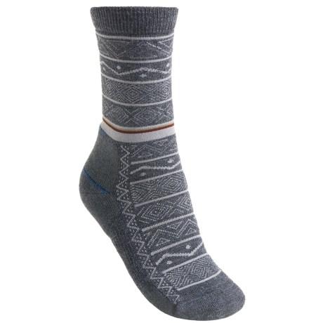 Point 6 Point6 Nordic Stripe Light Socks - Merino Wool, 3/4-Crew (For Women)