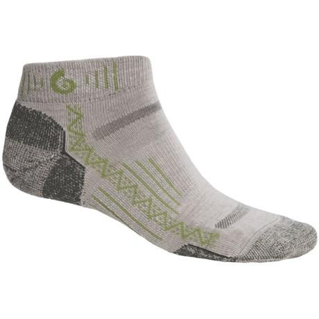 Point6 Hiking Tech Mini Socks - Merino Wool Blend, Ankle (For Men and Women)