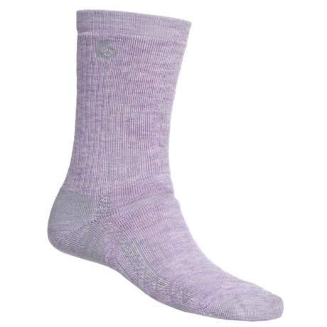 Point6 Hiking Tech Midweight Socks - Merino Wool, Crew (For Women)