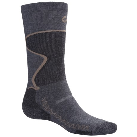 Point6 1432 Midweight Ski Socks - Merino Wool, Over-the-Calf (For Men and Women)