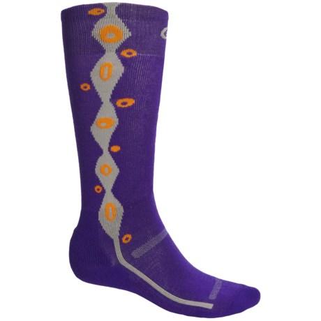 Point6 Lava Ski Socks - Merino Wool Blend, Over-the-Calf (For Men and Women)