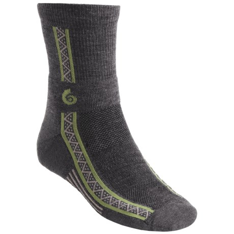 Point6 Running Socks - Merino Wool, 3/4-Crew (For Men and Women)
