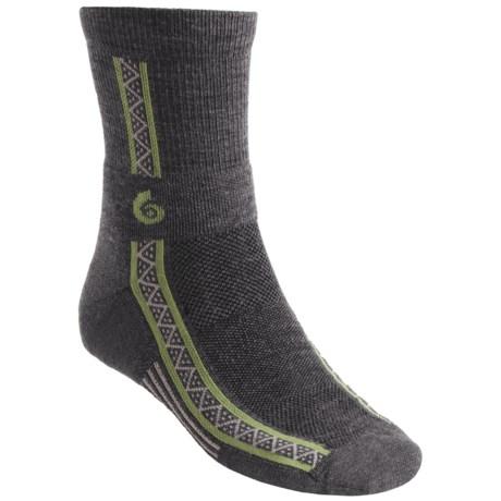 Point6 Running Socks - Merino Wool, 3/4-Crew (For Men and Women)