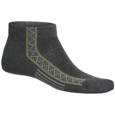 Point6 Extra Light Running Socks - Merino Wool, Ankle (For Men and Women)