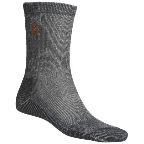 Point6 Hiking Core Medium-Weight Socks - Merino Wool, Crew (For Men and Women)